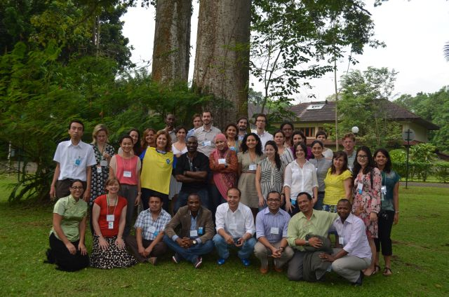 REDD SES Bogor group photo 3 July 2013 c.Andrea Quesada